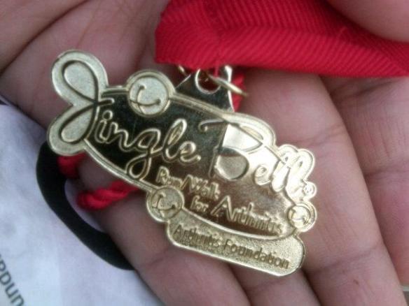 Jingle Bell Run Medal