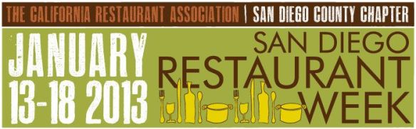 Restaurant Week Jan.